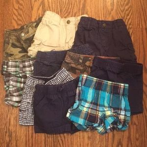 10 pairs of Carter's shorts